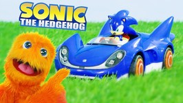Fuzzy Puppet Plays Sonic The Hedgehog! Sonic Movie!