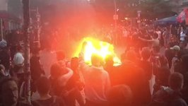 Fires Burn in Hamburg as Anti-G20 Protests Continue
