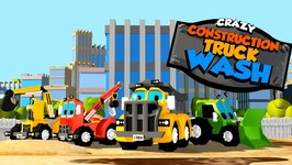 Crazy Construction - Truck Wash - Promo - Trailer - Cartoon Video For Toddlers