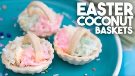 Easter Coconut Cordial Baskets