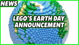 LEGO Earth Day Announcement - 100percent Sustainable Boxes by 2025