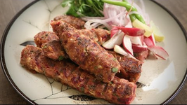 How To Make Veg Seekh Kebab  Popular Veg Starter Recipe  The Bombay Chef - Varun Inamdar