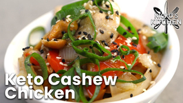 Keto Cashew Chicken / Paleo And Low Carb / Dinner In 15 Minutes