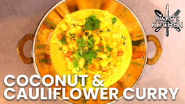 Coconut And Cauliflower Curry / Vegetarian Recipe / Low Carb Recipe