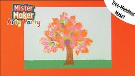 Tree-Mendous Make - Arty Party - Mister Maker