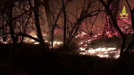 Italian Firefighters Continue to Fight Wildfires in Lombardy and Piedmont
