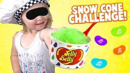 Snow Cone Challenge Kids React To Jelly Belly Colors And Fun Games