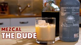 The Dude Does Not Abide Mezcal White Russian Cocktail