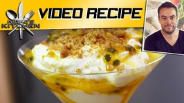 Mango, Passionfruit And Coconut Crunch