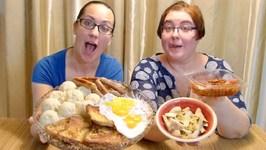 Restaurant Like Breakfast- Gay Family Mukbang- Eating Show