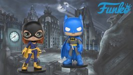 Batman & Batgirl Funko DC Wobblers