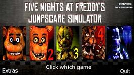 Five Nights at Freddy's 1-5 Jumpscare Simulator FNAF 2017