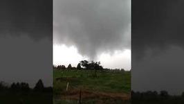 Possible Tornado Spotted Near Foley, Alabama