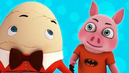 Humpty Dumpty-Popular Children's Nursery Rhymes