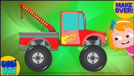 Tow Truck Makeover - Car Garage Video for Kids