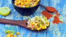 Spicy Corn Chaat - Masala Corn Snack