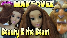 Beauty and the Beast Belles Makeover Thrift Store Doll Makeover