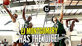 6'11 Droppin' Dimes Like A Guard, Ej Montgomery Has The Juice Atl Celtics Vs Mba Hoops At Adidas
