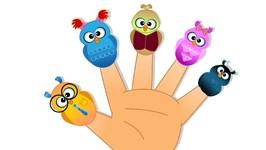 Finger Family  - Kindergarten Nursery Rhymes For Toddlers - Cartoons For Children