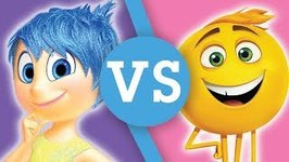 Inside Out VS Emoji Movie - Battle of the Emotions