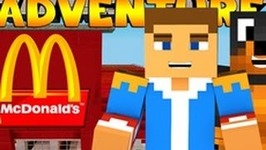Minecraft-Little Donny Adventures - MCDONALDS AND A PRESENT FOR KELLY