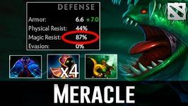 Meracle 87percent Magic Resist Tidehunter Dota 2