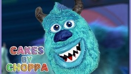 Sulley Cake - (How To)/ Monster University Collab With Simplybakings