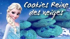 Recette Cookies Reine Des Neiges / Frozen Cookies Disney