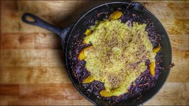 Smoked Red Cabbage Potato Skillet