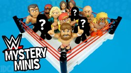 Wwe Toys Battle Royal Ft Wwe Mystery Minis Unboxing - Shake Rumble