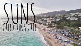Deadlifts, 135 Lb Curls, Beach Day