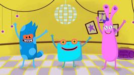 Hokey Pokey - Nursery Rhymes For Kids - Popular English Rhymes