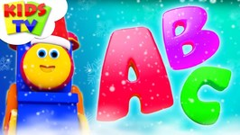 Abc Song - Bob The Train - Christmas Cartoons - Learning Videos For Children