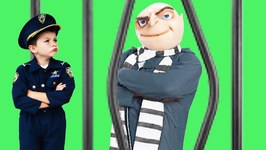 The Stolen Truck  Kid Cops Take Gru To Jail