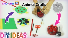 DIY Easy Animal Crafts For Kids - Surprise Craft Ideas for Children