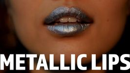 Own the Trend: Metallic Lips