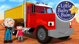 Song About Trucks - Nursery Rhymes - Original Songs