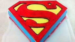 Superman / Man Of Steel Cake (How To)
