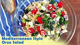 Side Dish - Mediterranean Style Orzo Salad