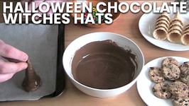 Halloween Chocolate Witches Hats
