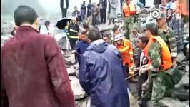 Drone Footage Shows Sichuan Landslide Devastation
