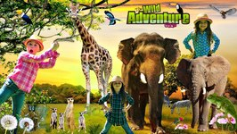 Kids and WILD ANIMALS at the Zoo - Animal Adventure Park - Wild Animal Adventure
