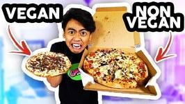 VEGAN FOOD VS NON VEGAN FOOD