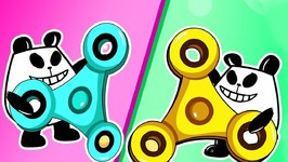 Panda A Panda Fidget Spinner - Panda Kids Cartoon - Videos For Kids - Funny Panda Episodes