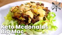 Keto Mcdonalds Big Mac - Low Carb, Low Sugar