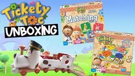 Tickety Toc Chime Time, Tommy, Tallulah, Pufferty Train Unboxing Video