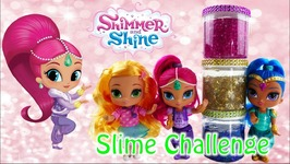 Shimmer And Shine Leah Slime Challenge With Surprizamals Surprises