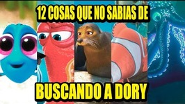 12 THINGS YOU DIDNT KNOW ABOUT FINDING DORY  Los 12 Más