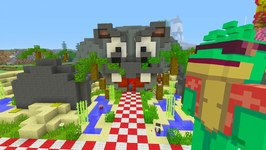 Minecraft Xbox  Survival Madness Adventures 2  Hungry Hippos Mini Game 13