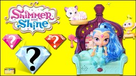 Shimmer and Shine GENIE GEMS SURPRISE TOYS at Float and Sing Palace Friends  -Toy Review Videos
